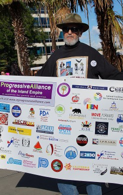 Bruce Daniels of the Progressive Alliance
