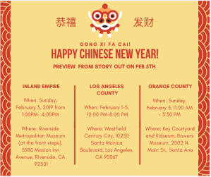 Lunar New Year Events Previes